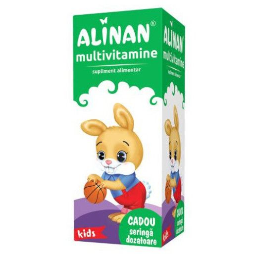 ALINAN MULTIVITAMINE SIROP, 150 ML
