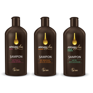 Farmec Şampon Argan Plus Keratină x 200 ml