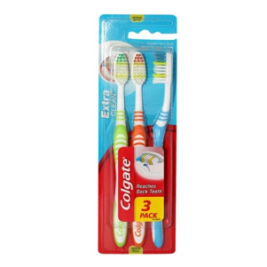 Colgate, Set 3 Periute de dinti, Medium