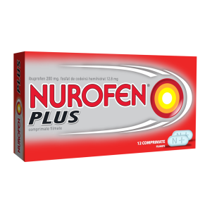 Nurofen Plus, 24 tablete, Reckitt Benckiser Healthcare