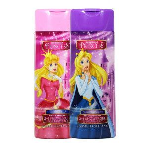 Sampon si gel de dus Disney Princess, Cinderella, 400 ml