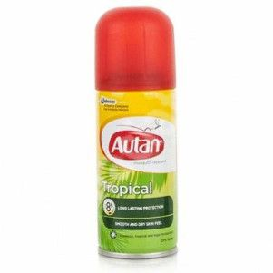 Autan Tropical, Spray impotriva tantarilor, 100 ml, Johnson